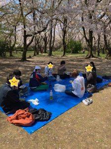 名古屋名西キャリアセンター「花見イベント」