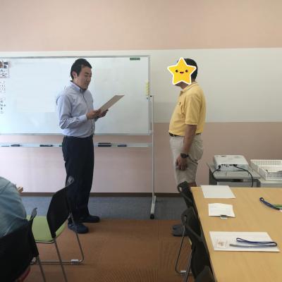 就職卒業式【名古屋名西キャリアセンター】