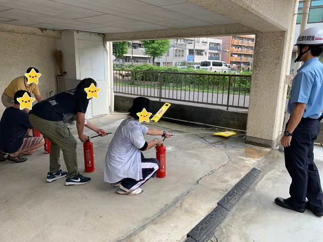 消防訓練【名古屋名西キャリアセンター】