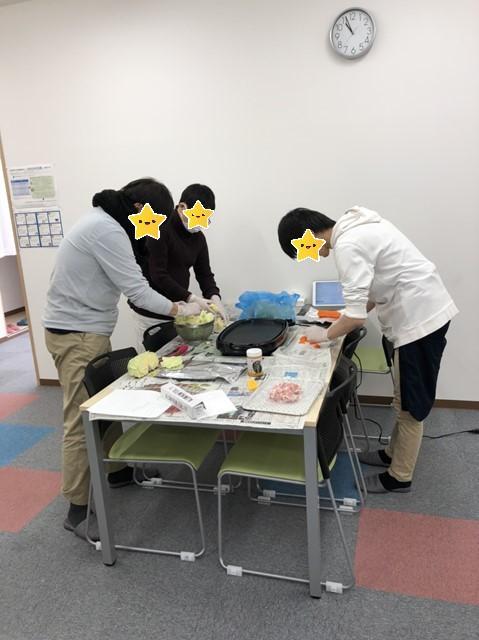 調理実習【名古屋名西キャリアセンター】
